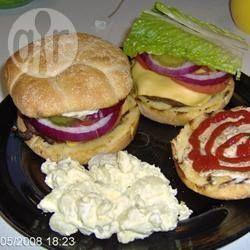 Hambúrguer de carne de veado e bacon @ allrecipes.com.br