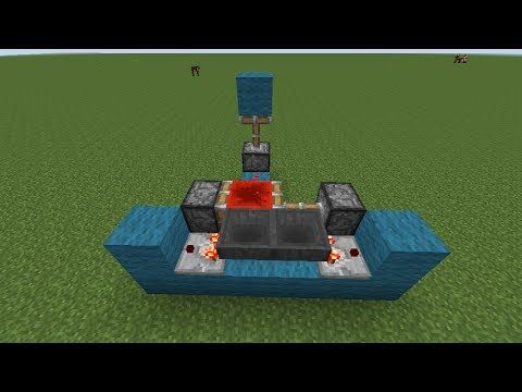 Minecraft Tutorial - Redstone Clock/Engine w/ Hoppers