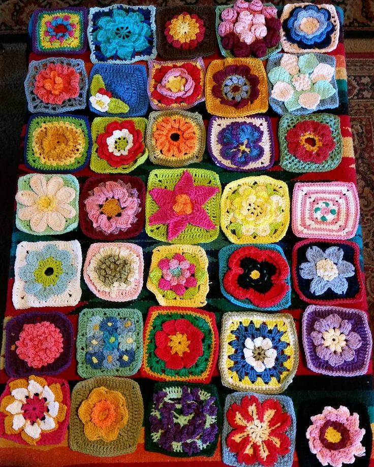 747 best C GRANNY SQUARE all of it images on Pinterest | Anleitungen ...