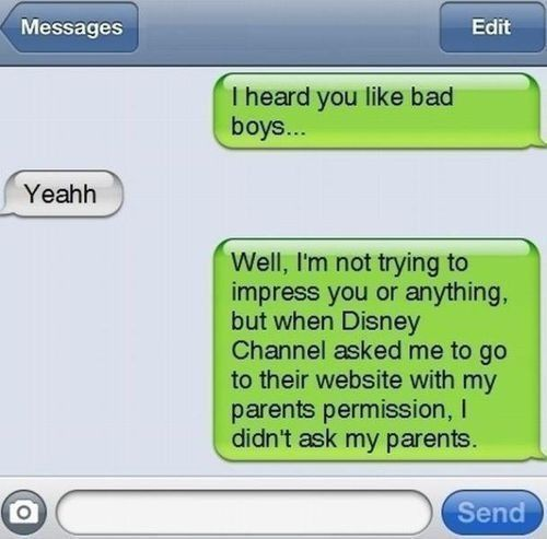 Funny text message!