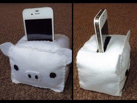 How to Make a MonoKuro Boo Phone/iPod Holder Plush