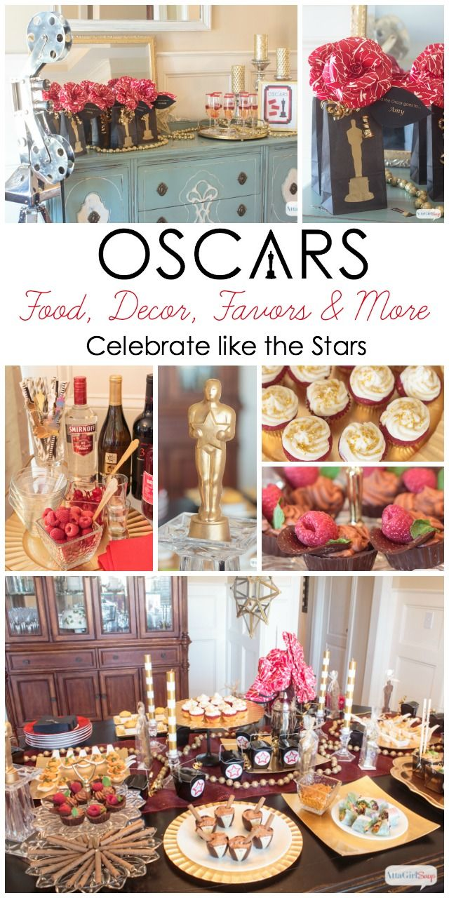 Celebrate like the stars with these Oscar