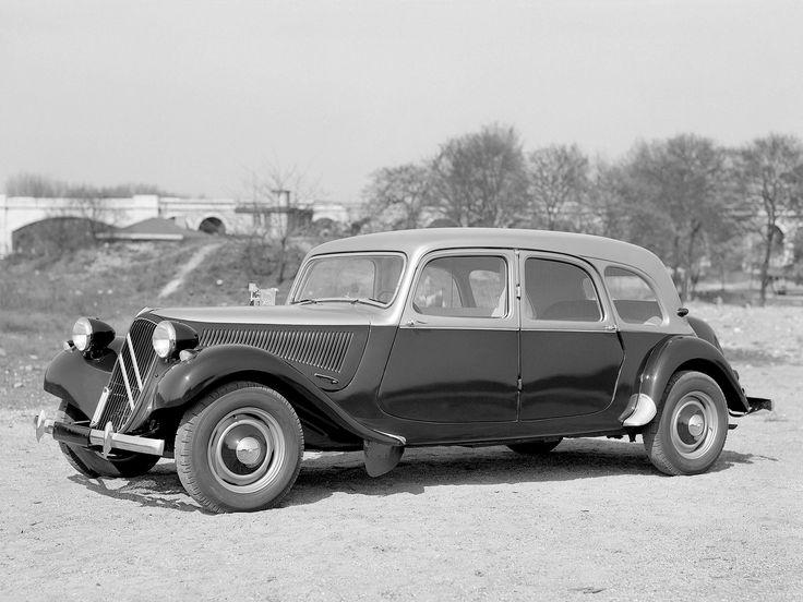Citroën Traction Avant Combi 1934–57
