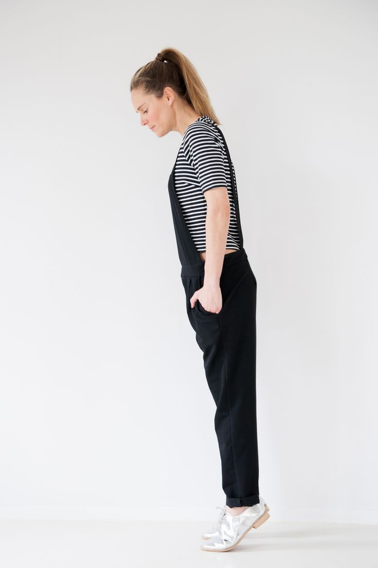 #photography #outfit #outfitinspiration #fashion #fashioninspiration #style #styleinspiration #styling #fashionstylist #spring #summer #jumpsuit #dungarees #black #white #blackandwhite