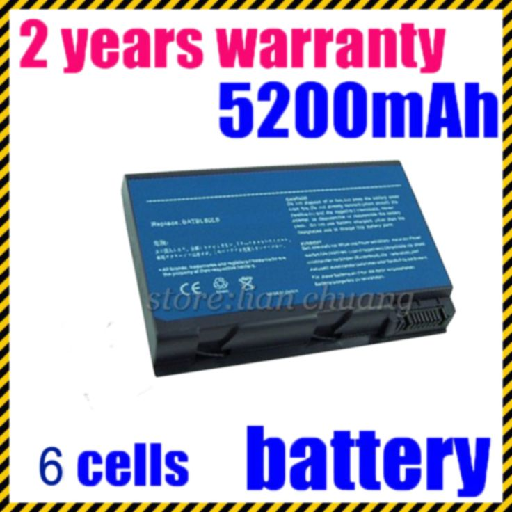 JIGU Laptop Battery for Acer Aspire 3100 3690 5100 5110 5515 5610 5630 5650 5680 9110 9120 9800 LIP6199CMPC LIP8151CMPCFSY6