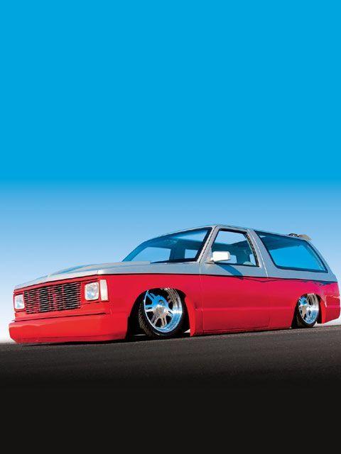 0601mt 01 Z+1987 Chevrolet S10 Blazer+drivers Side View