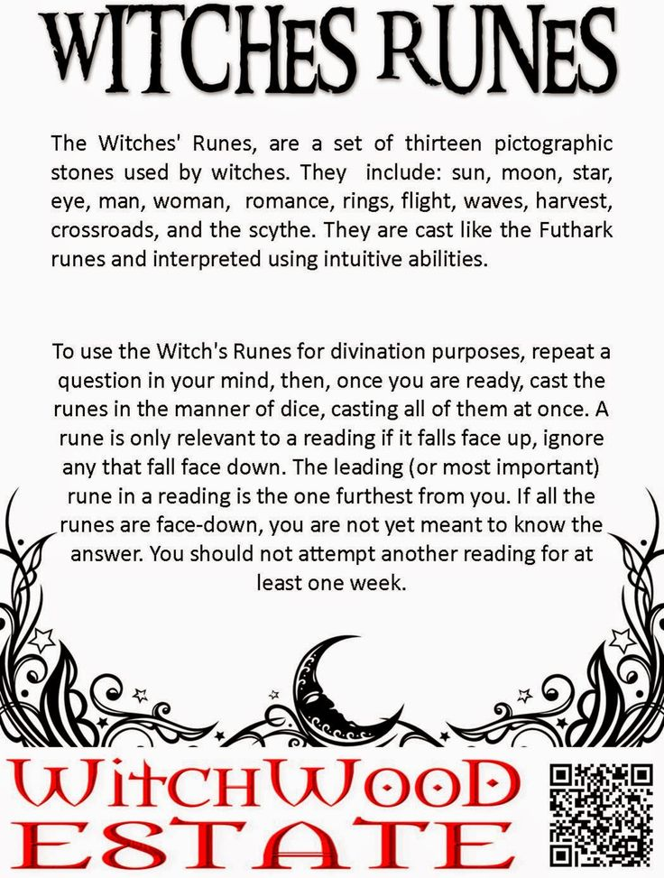 Witchwood Estate: Witches 13 Casting stones & Rune Stones