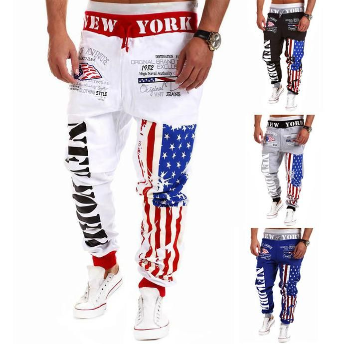 Men's Fashion - Casual Pants Harem S M-XXL - Limited Supply