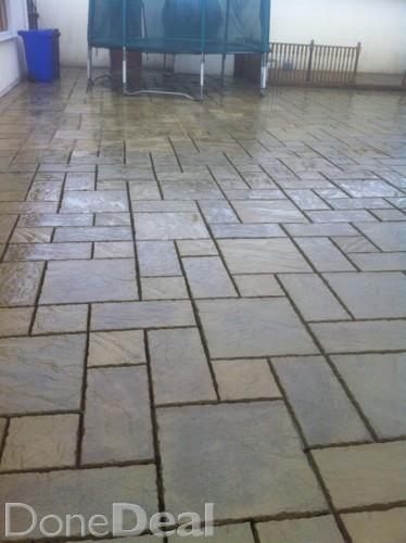 cheap! new patio paving slabs