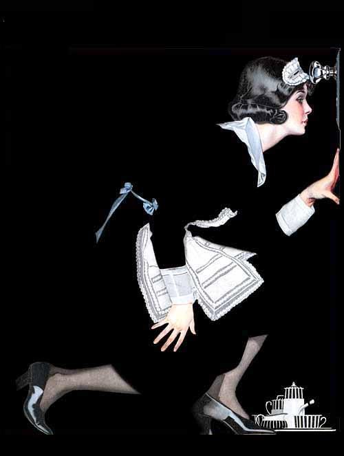 "A Coles Phillips ""fade-away-girl"".: Magazine Covers, Vintage Magazine, 1921, Illustration, Art, Life Magazine, Coles Phillips"