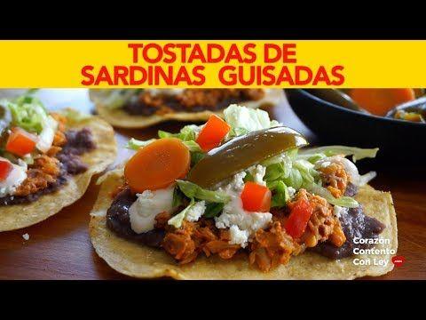 TOSTADAS DE SARDINAS – Corazón Contento Con Ley