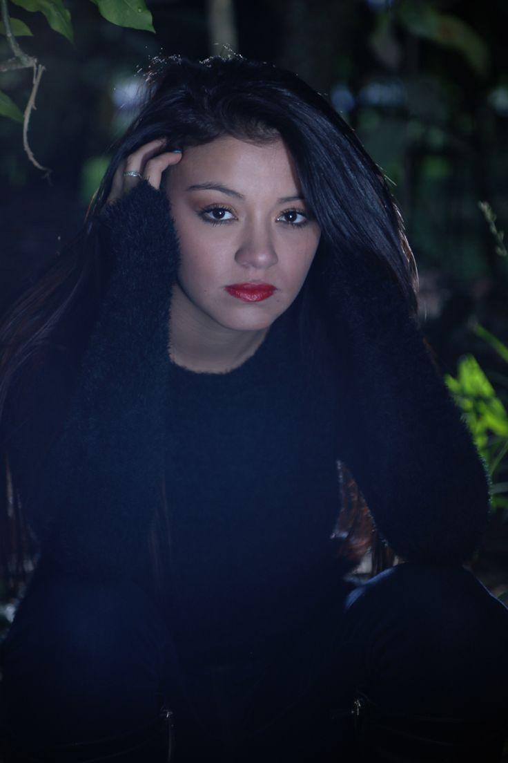 Vanessa #dark #girl #forest