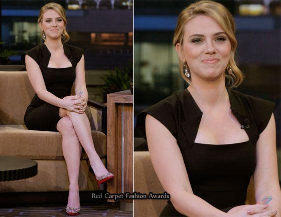 "Scarlett Johansson's TV Promotional Tour For ""Iron Man 2″"