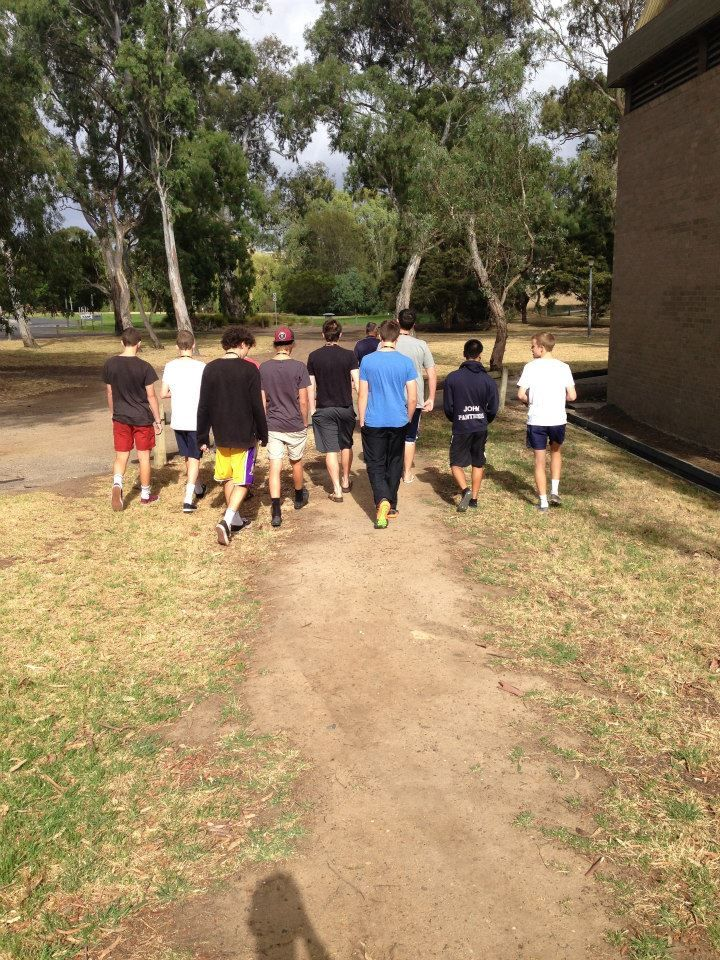 Morning recovery for the U/18 Boys in Eltham.