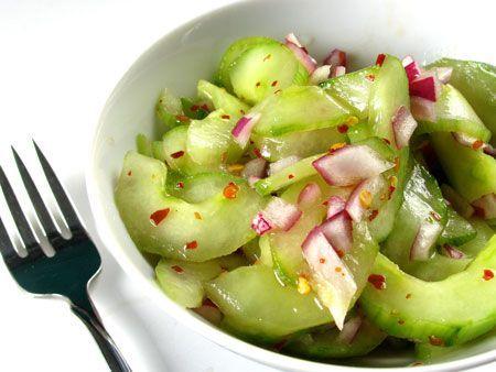 "Korean Cucumber ""Kimchi"" Recipe"