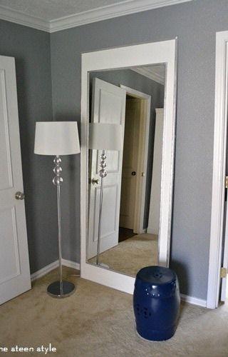 Oversized Floor Mirror Diy