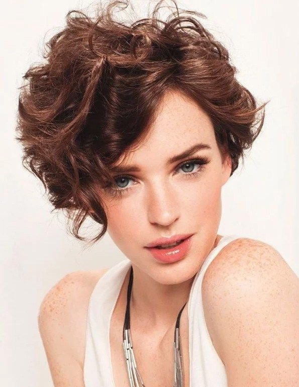 Trendy Short Hair Style 2019 To 2020 Haircuts For Curly Hair Curly Hair Styles Curly Hair Styles Naturally