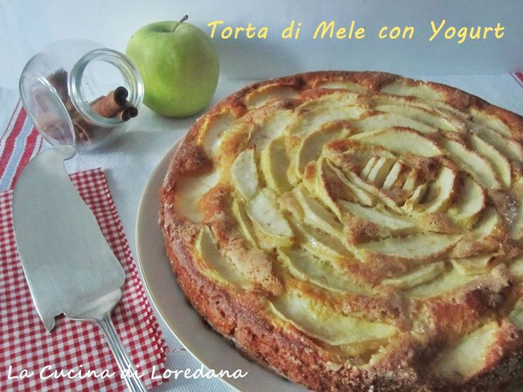 Torta di Mele con Yogurt - Ricetta light