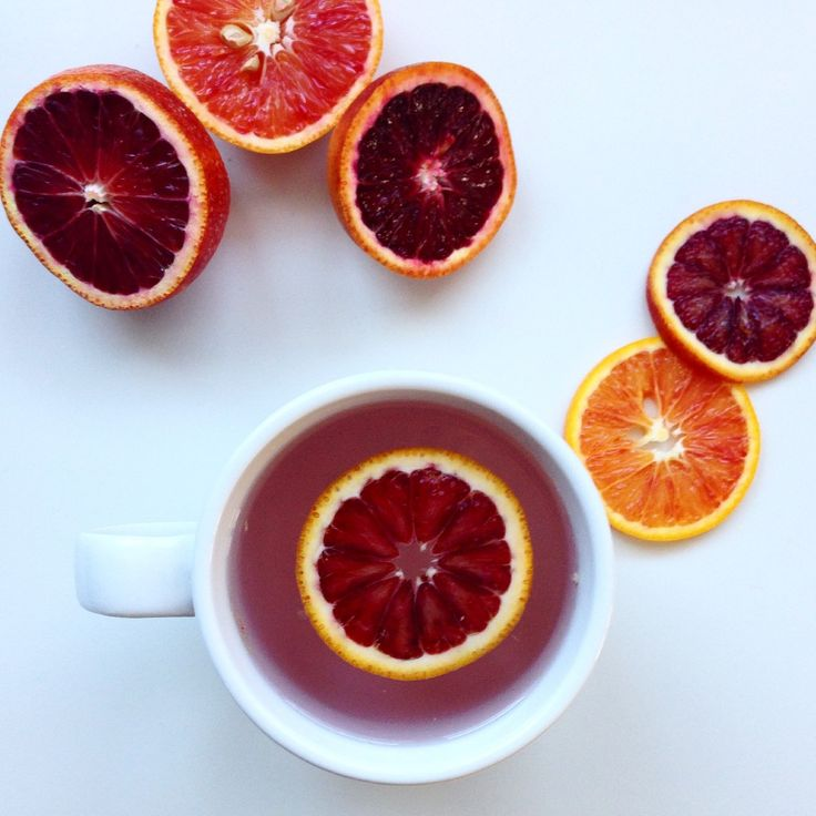 Blood Orange Tea. Great for hydrating, healing, warming and boosting your immune system!