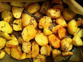 Cartofi la cuptor cu rozmarin si salvie | Gabi Urda
