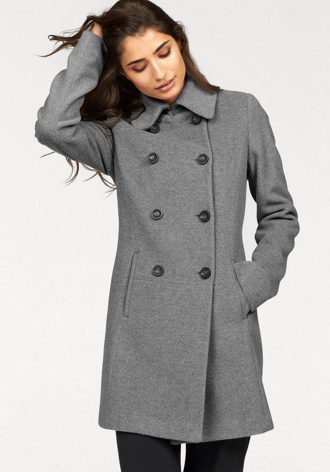 grauer mantel damen wolle modische jacken dieser saison foto blog. Black Bedroom Furniture Sets. Home Design Ideas
