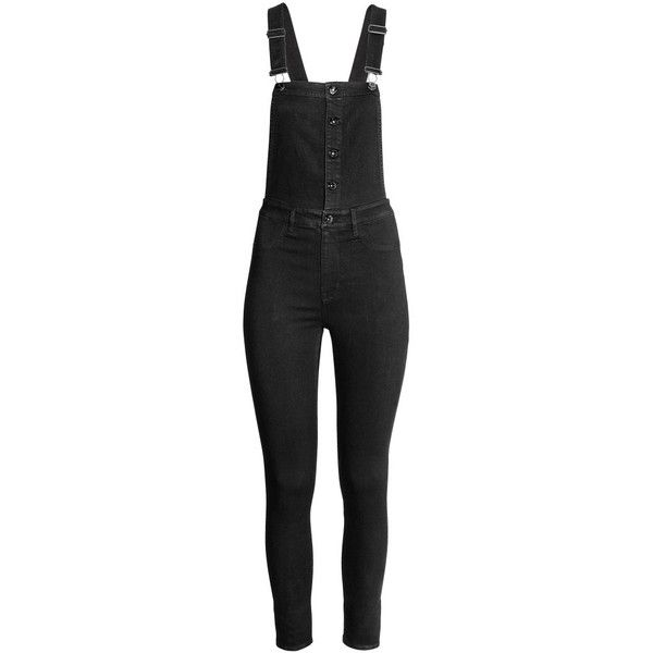 Bib Overalls $34.99 (1,630 DOP) ❤ liked on Polyvore featuring jumpsuits, overalls jumpsuit, bib overalls and zipper jumpsuit