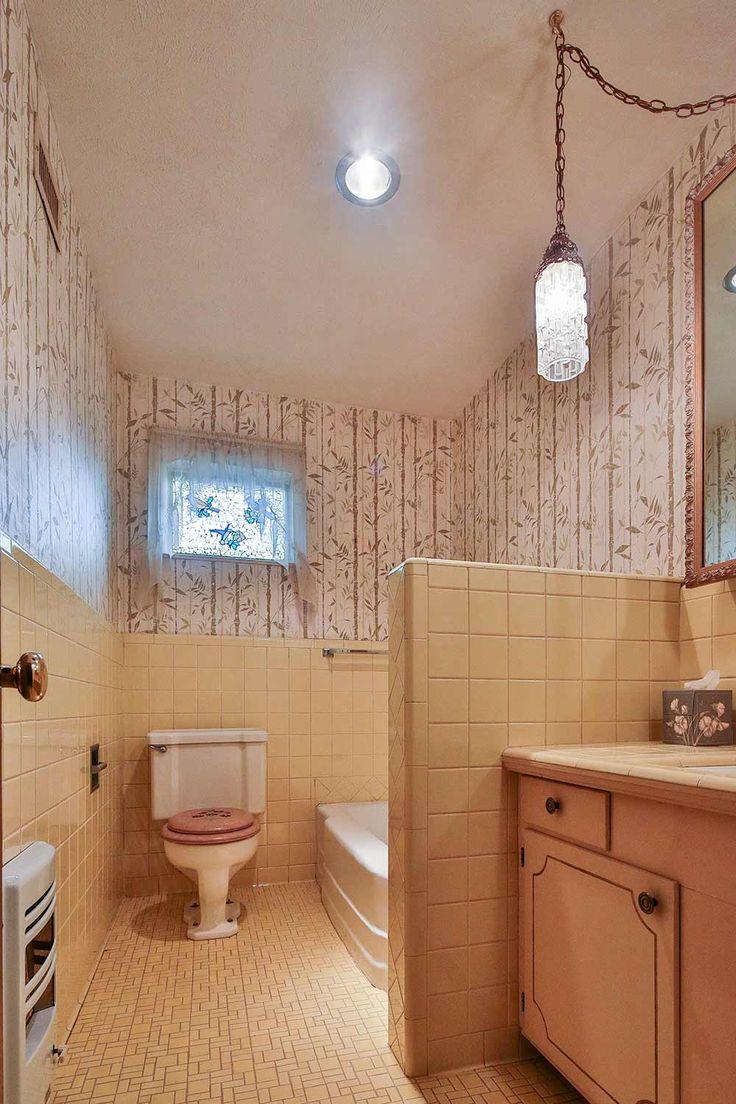 91 best mid century bathrooms, desks & gossip benches images on