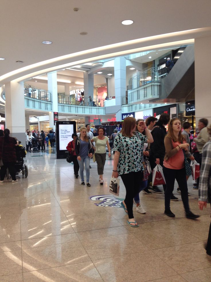 27th May 2014: great day of shopping in Plymouth
