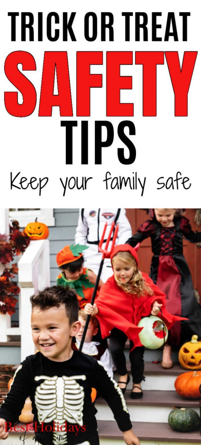 These Halloween safety ideas will help keep your kids safe