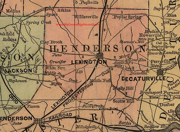 96 Best Vintage Tennessee County Maps Images On Pinterest Map: Map Of Houston County Tennessee At Usa Maps