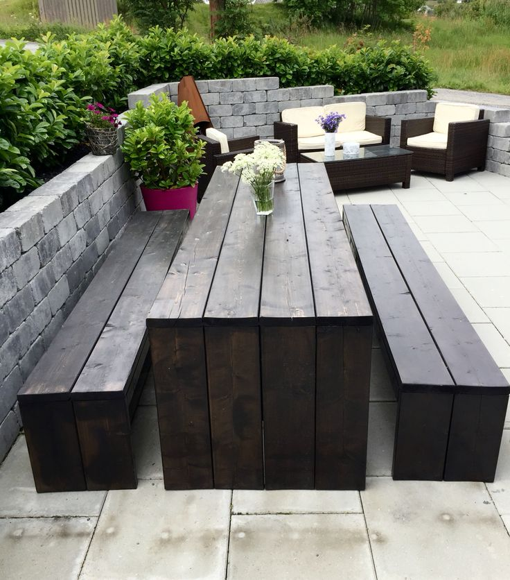 #outdoor #diy #bench