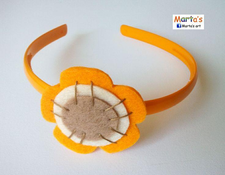 felt head band