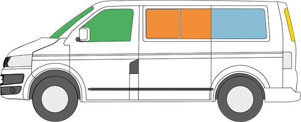 5 heckmodul mit bettfunktion und stauraum vw t5 innenansicht. Black Bedroom Furniture Sets. Home Design Ideas