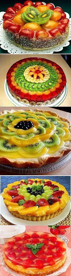 Фруктовый пирог с ягодами - Сайт coo-king!