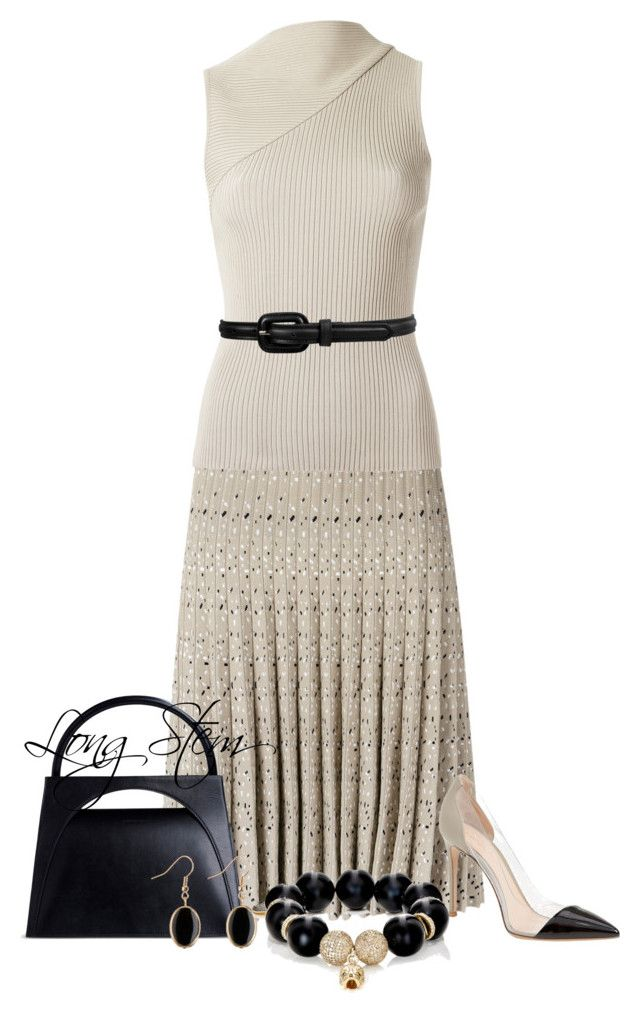 """7/29/17"" by longstem on Polyvore featuring EGREY, Forever 21, J.W. Anderson, Gianvito Rossi and Carole Shashona"