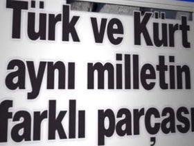 Türk ve Kürt aynı milletin parçası Video