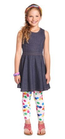 DENIM & DOTS OUTFIT  #FabKids
