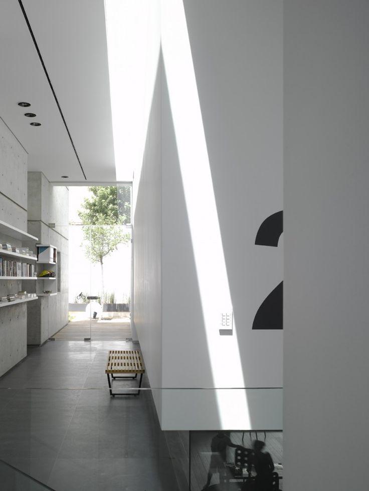 White interior //