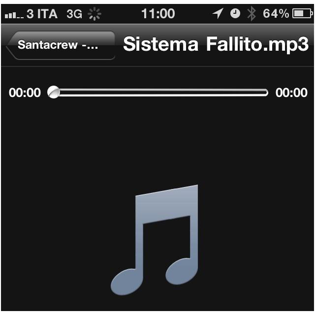 Ancora 27 Mi Piace sulla pagina Santacrew di Facebook per la messa online del disco .. Sistema Fallito! Stay Tuned!!