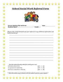 Social Work Assessment Forms