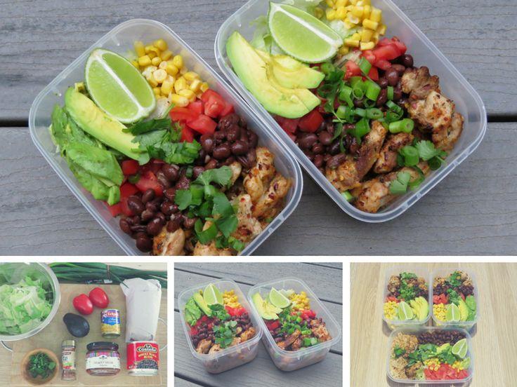 Spicy Chicken Burrito Bowl Recipe