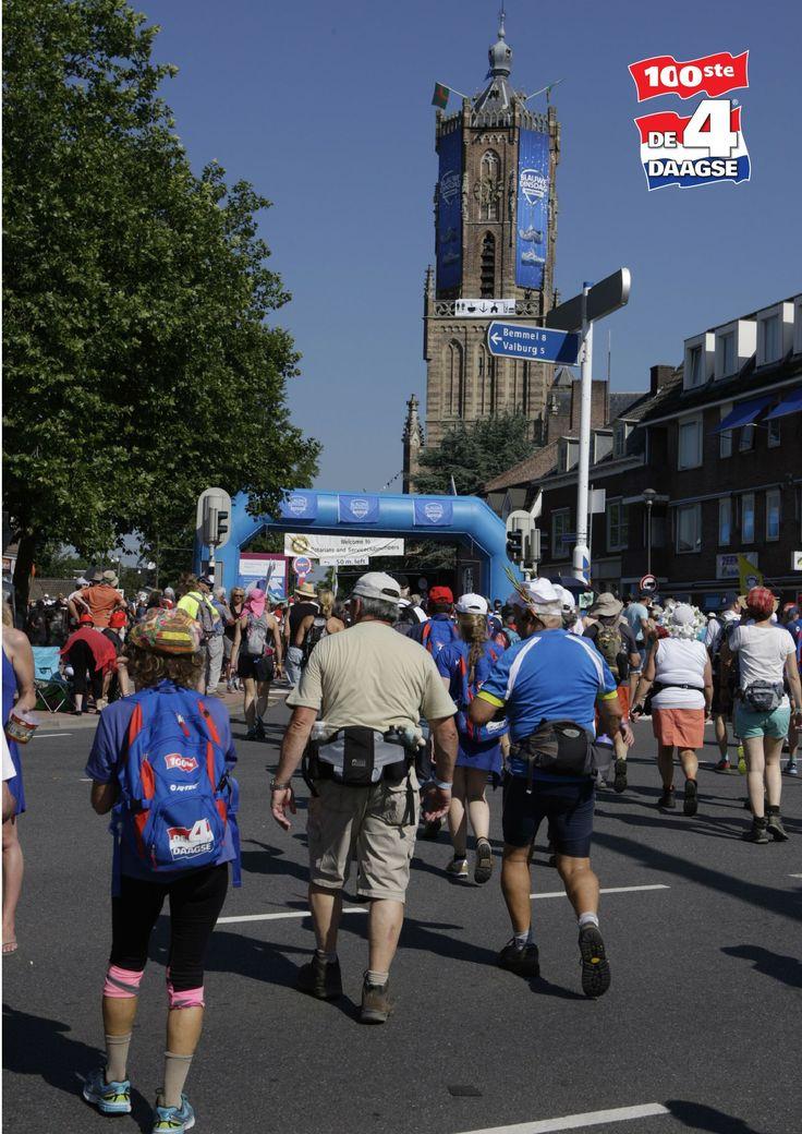 Dag 1, 100ste Vierdaagse, Nijmegen, Gelderland.