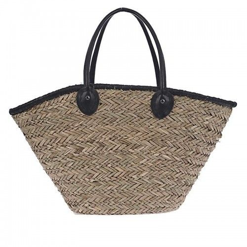 STRAW BEACH BAG IN NATURAL COLOR 56X16X30/50