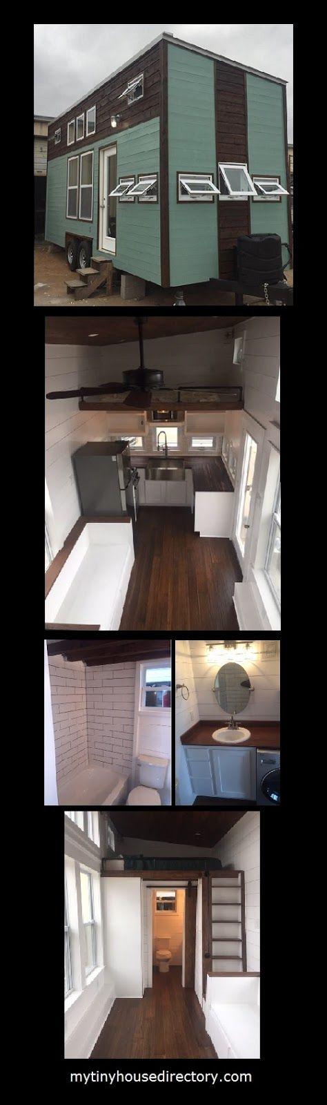 mytinyhousedirectory: 24' Modern Rustic Farmhouse For Sale