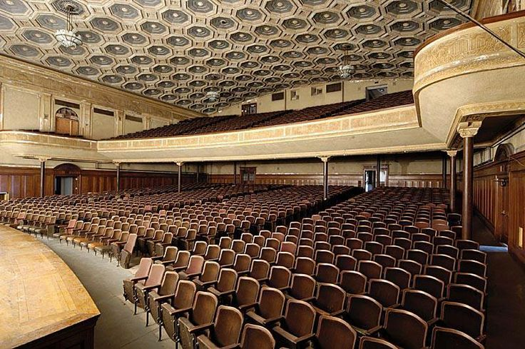 lincoln auditorium in central high school syracuse area