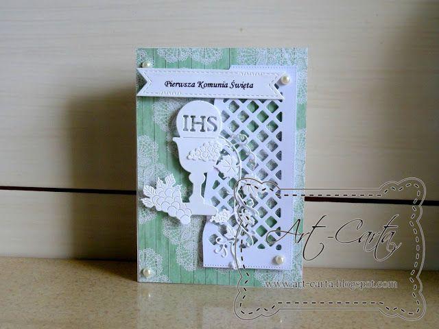 Art-Carta : Komunia z odrobiną zieleni