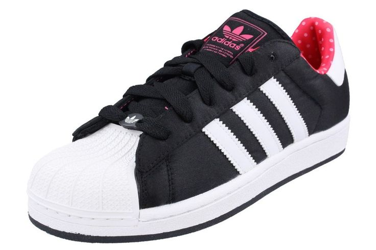 ADIDAS ORIGINALS Superstar II W Sneaker damen schwarz