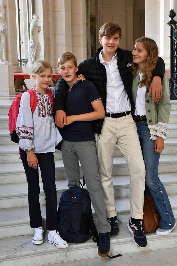 2 September 2019 In Belgien Beginnt Nach Den Sommerferien Heute Wieder Die Schule Und Auch Der Konigliche Na Prinzessin Foto Prinzessin Elizabeth Prinzessin