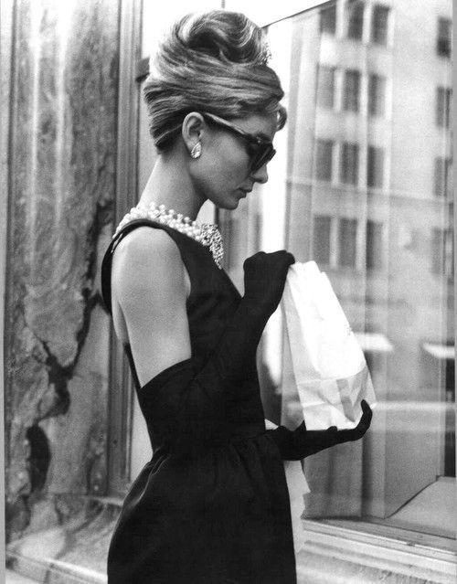 Audrey Hepburn hated danish. breakfast at tiffany's .