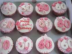 17 Best ideas about 60th Birthday Cupcakes on Pinterest ...